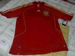 Camiseta selección española firmada por Fernando Torres, Eurocopa de fútbol