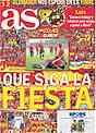 Portada de As para la semifinal de la Eurocopa España-Rusia
