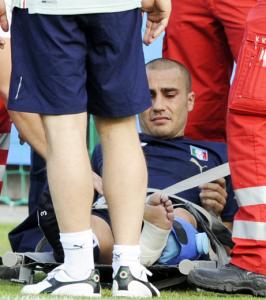 Cannavaro se pierde la Eurocopa por lesión 3