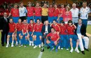 España gana la Eurocopa de Fútbol Indoor 3