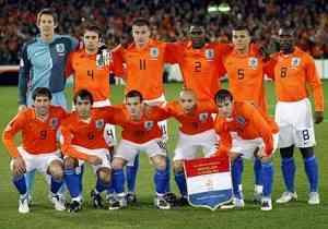 Holanda en la Eurocopa de Fútbol