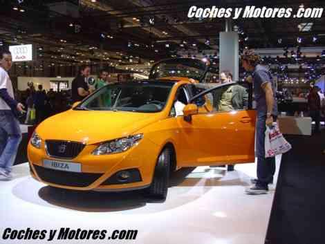 El nuevo Seat Ibiza en un llamativo color naranja
