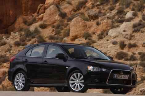 El Mitsubishi Lancer Sportback rivalizará con el Subaru Impreza