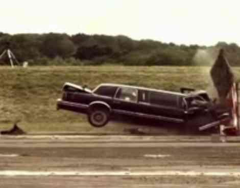 Crash test de una limusina, por Fifth Gear