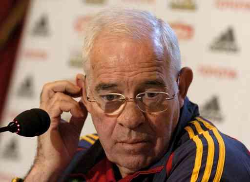 Aragonés cierra las puertas de la Ciudad del Fútbol para preparar el próximo encuentro 3