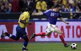 Victoria ajustada de Francia frente a Colombia 3