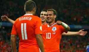 Robben Holanda Eurocopa