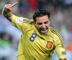 Xavi Hernández, mejor jugador de la Eurocopa 2008 3