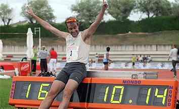 rodriguez record 100 metros
