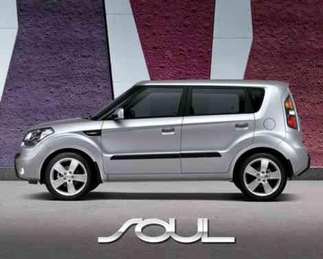Bright Silver, el color gris plata para el Kia Soul