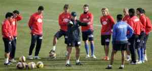 El Atlético se prepara para el enfrentamiento con el Shalke 04 3