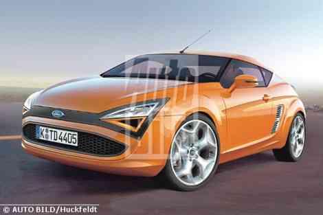 La visión de Autobild sobre el futuro Ford Capri
