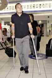 sneijder muletas lesion