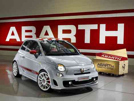 Frontal Fiat 500 Abarth SS