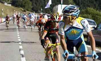 contador valverde vuelta ciclista a España