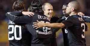 El Madrid se conforma con el 1-2 3
