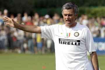 mourinho entrenador inter milan