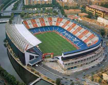 vicente calderon estadio atletico de madrid