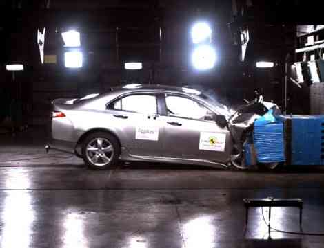 Honda Accord: 5 estrellas EuroNCAP