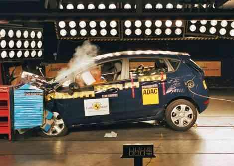 5 estrellas EuroNCAP para el nuevo Ford Fiesta