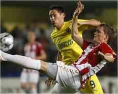 El Villarreal se deja dos puntos en Dinamarca 3