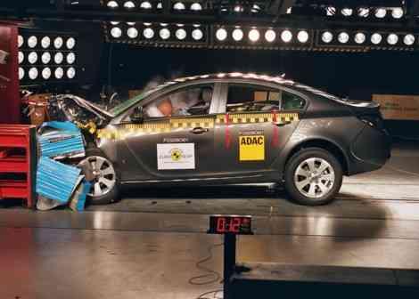 5 estrellas EuroNCAP para el Opel insignia