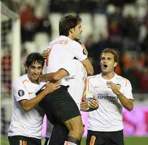 El Valencia paga su exceso de confianza 5