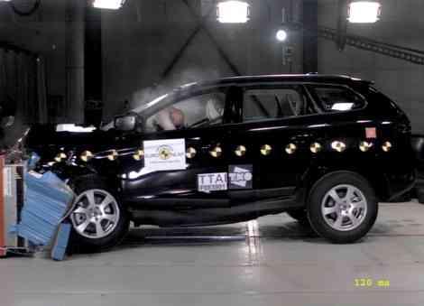 Resultado admirable: 5 estrellas y 37 puntos para el Volvo XC60