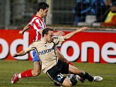 El Atlético empató en Marsella y queda segundo de grupo