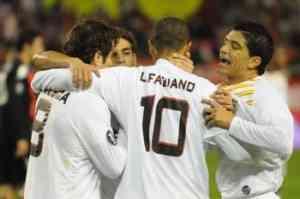 Victoria clara del Sevilla ante un débil Partizan 3