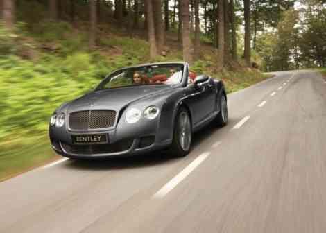 Bentley Continental GTC Speed: lujo y deportividad en un sólo coche