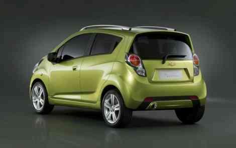 Chevrolet Spark, primeras imágenes oficiales