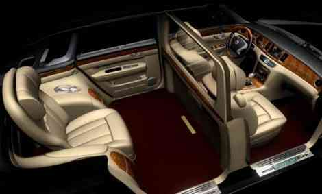 Geely GE Concept, el Rolls-Royce Phantom chino
