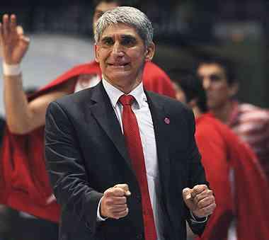giannakis entrenador del olympiakos