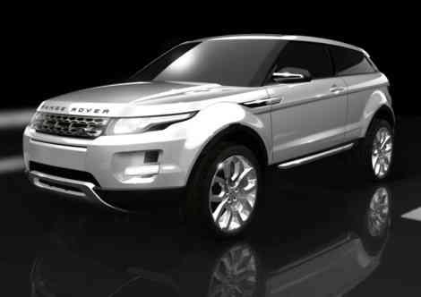 Land Rover Range Rover LRX, el SUV coupé de Land Rover