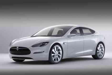 Tesla Model S, un sedán eléctrico muy espacioso