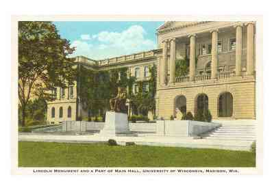 wi-00097-cmonumento-a-lincoln-universidad-madison-wisconsin-posters