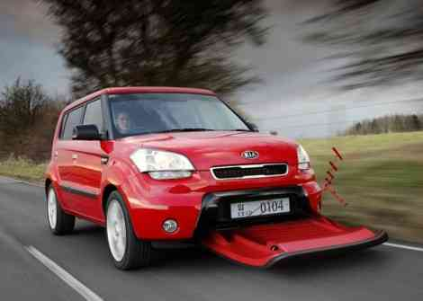 Kia Aero-Soul, un coche imposible