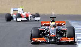 Hamilton pillado por mentiroso y Trulli acaba en tercero posición