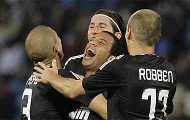 celebracion del gol