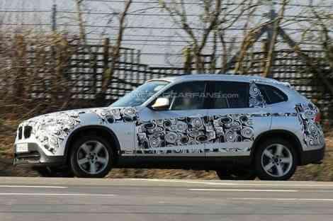 BMW X1, fotos espía antes de su presentación