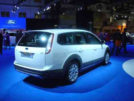 El Ford Focus X-Road en el Salón de Barcelona 2009