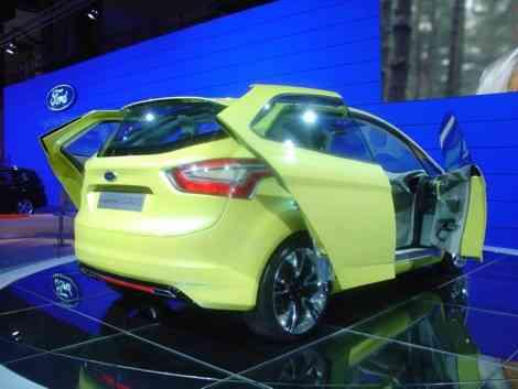 Ford Iosis Max, adelantando futuros modelos de Ford