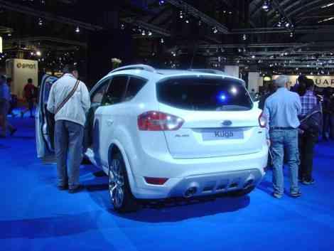 Un Ford Kuga pasado por el programa de personalización de Ford