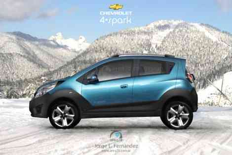 Chevrolet 4-Spark, posible versión para la montaña
