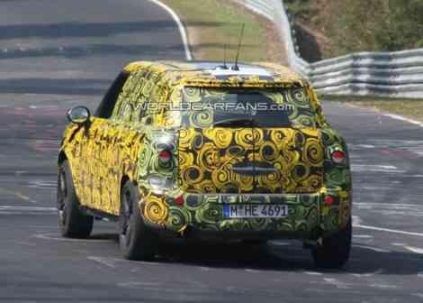 El Mini SUV se presentará en el Salón de Frankfurt en Septiembre