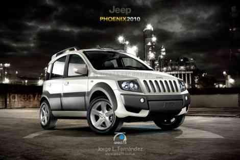 Jeep Phoenix, el Fiat Panda para Estados Unidos