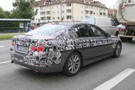 El BMW Serie 5 2010, en sus últimas pruebas