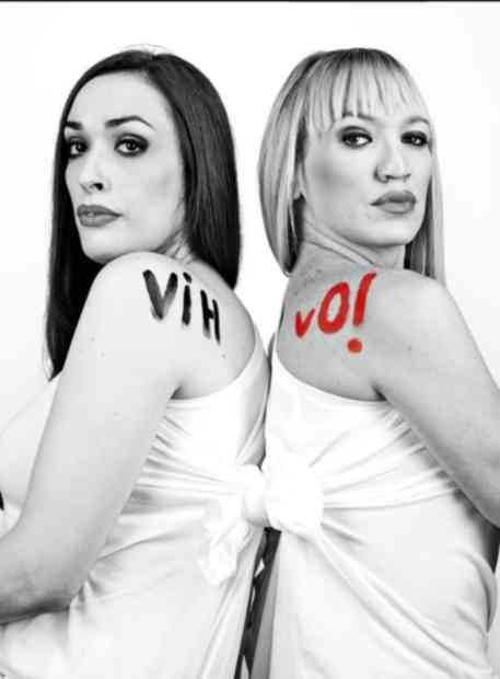 Roberta Marrero y Topacio Fresh VihVo