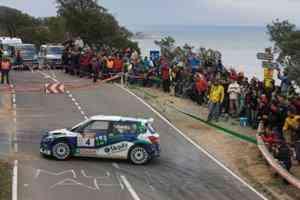 Hevia finalizó el rallye en segunda posición